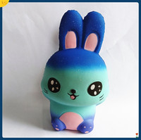 Wholesale super cute rabbit - Cute Jumbo Squeeze Rabbits Pu Squishy Slow Rising Super Soft Kwaii Squishies For Home Desktop Novelty Decoration Kids Toys 16 99xz Z