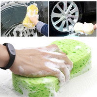 Wholesale New Honeycomb Type Car Cleaning Sponge Shaped Compressed Sponge Car Washing Tool Car Care Products