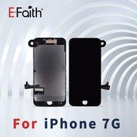 hochwertige kameras großhandel-Hochwertig für iPhone 7 Balck / weiße Anzeige LCD mit Touch Screen Analog-Digital wandler Ersatz + Frontkamera geben Sie DHL-Verschiffen frei
