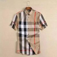 2019 Modemarkendesignerhemd Herren Kariertes Businesshemd Langarm Slim Fit Streetwear Kariert Lässig Button Up Herren Kleidung