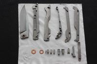 mejores cuchillos afilados al por mayor-Cuchillo de bolsillo mecánico de primera calidad 100% M390 Cuchilla de acero Cuchillo de titanio Cuchillos de supervivencia que mejor cuchillo de regalo afilado