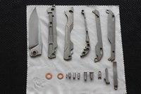 en kaliteli cep bıçakları toptan satış-En kaliteli Mekanik cep katlanır bıçak 100% M390 çelik Bıçak Titanyum Kolu kamp Survival bıçaklar en iyi Hediye bıçak keskin
