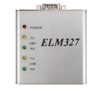 Wholesale best audi - ELM327 USB Metal V1.4 RS232 COM Interface 25K80 Chip OBD2 Full Protocol Best Quality Matel In Stock Free Shipping