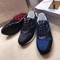 imagem sapatos de couro venda por atacado-2018 nova moda de alta qualidade de sapatos legais de couro designer de marca lace-up apartamentos casuais cor da imagem frete grátis