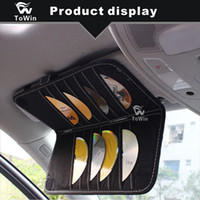 Wholesale tissue box multifunctional resale online - Car Tissue Box Multifunctional Auto Interior Accessories Stowing and Tidying Storage Box Portable Big Capacity Leather Paper Towel Box Slot