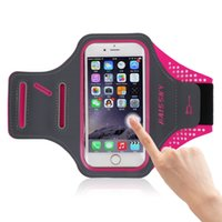 тренажерный зал фитнес-клуб оптовых-4.7'' inch Rushed Sports Arm band For  S3 LeEco Mate 7 Gym Running Lycra Fitness Armband Case Cover For  6 6S 5S 4S