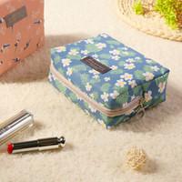 ingrosso scatole di viaggio di trucco-Nuova borsa impermeabile per il trucco delle donne Borsa cosmetica per il viaggio Borsa per il trasporto dell'organizzatore da viaggio Borsa per il lavaggio della scatola