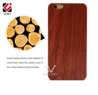 Wholesale Light Logo Back - DIY LOGO Customized Wood Phone Case for iPhone 5S 6 6Plus 7 7PLus Blank Wooden Mobile Phone Back Cover Protector Cover Photo Personalized