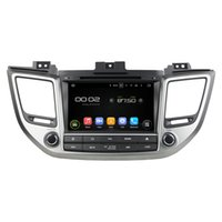 "Wholesale hyundai tucson gps dvd - Android7.1 2G RAM 16G 1024*600 8"" CAR DVD GPS navigation for Hyundai TUCSON IX35 2015 2016 car video player car stereo radio GPS"