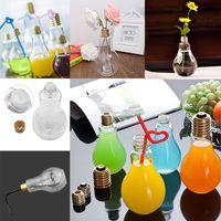 botellas brillantes al por mayor-Resplandor de verano Bombilla LED Botella de agua Chica linda Moda Leche Jugo Bombillas Bombilla Vaso de agua Taza con tapa GGA388