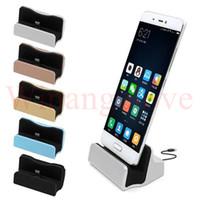 крэдл-ящик оптовых-С розничной коробкой быстрое зарядное устройство док-станция для док-станции зарядки док-станция синхронизации для iPhone 6 7 тип C для Samsung S6 S7
