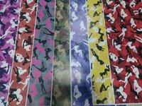 mädchen aufkleber für autos großhandel-Verschiedene Farbe Snow Girl Camouflage Vinyl für Auto LKW Wrap styling Covering Film mit Luft Release / Bubble Freea 1,52x30m (5x98ft) Roll
