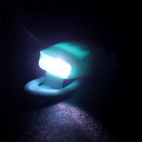 luces traseras mini bicicleta al por mayor-Mini Bicicleta de silicona Bicicleta de precaución Luz Ciclismo Cabeza Rueda trasera Trasera LED Flash Lámpara de seguridad para montar por la tarde de alta calidad 5 5rd Z