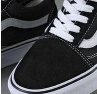 productos casuales al por mayor-Zapatos ocasionales Detalle del producto Clásico Negro Blanco Viejo Skool Hombres Mujeres Zapatos planos ocasionales Zapatillas Vanss Skateboar 03