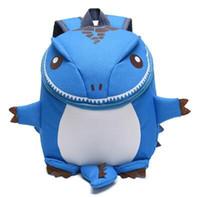 Wholesale 3d animal backpacks - 3D Dinosaur Backpack For Boys Children backpacks kids kindergarten Small SchoolBag Girls Animal School Bags Backpack