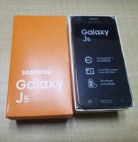 Wholesale Free Phone Accessories - Refurbished Samsung Galaxy J5 SM-J500F J500F Smart Phone 5.0Inch LCD Screen 16G ROM Quad Core 13.0MP Camera DHL free shipping