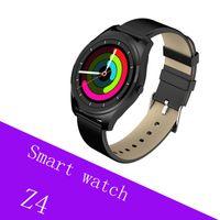 спортивные наручные часы оптовых-Z4 Smart Watch фитнес-трекер браслет монитор сердечного ритма спортивные часы Мужчины Женщины красочные сенсорный экран шагомер IOS Android Smart Band