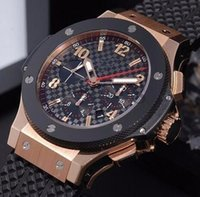 Wholesale new f1 watch online - AAA A2813 New gold Mens F1 Luxury Brand Automatic movement Watch Big Bang men Mechanical Watches Fashion Sports Wristwatch