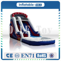 Wholesale Pool Inflatable Slides - Free Shipping Door To Door Inflatable Water Slide, Inflatable Pool Slide,Commercial Quality Inflatable Weter Slide