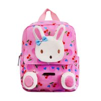 Little Kids Children s School Bags Backpacks 3D Cartoon Rabbit Small  Backpack Toddler Baby Girls School Bag for 2-4 Years Old ea05f83f7af7a