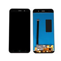 zte v6 venda por atacado-Telefone móvel 5 '' conjunto completo para zte blade x7 d6 v6 z7 tela de toque e display lcd para zte blade x7 lcd frete grátis