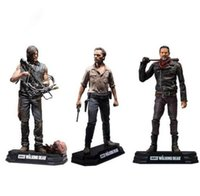 Wholesale Walking Dead Daryl Dixon - NEW Hot 15cm The Walking Dead Season 8 Rick Grimes Daryl Dixon Negan action figure toys collector Christmas gift doll with box