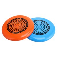 Wholesale plastic flying frisbee - 1 Piece Professional Sports Toys Ultimate Frisbee Flying Disc Flying Saucer Outdoor Leisure Men Women Child Kids Outdoor Game Play