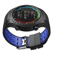 montres lcd de luxe achat en gros de-Bonne Qualité Populaire Montre Smart Watch LCD Support Soutien Carte SIM GPS Cardiofréquencemètre Moniteur Bracelet Bon Cadeau d'Affaires
