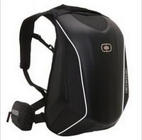 bilgisayar zor toptan satış-Yeni Gelenler OGIO Mach 5 Şövalye Sırt Çantası Su Geçirmez Motocross sırt çantası bilgisayar çantası karbon fiber Sert kabuk