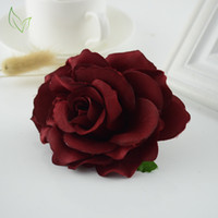 Wholesale cheap decoration for home - 10pcs New cheap Silk rose Wedding car Living room Decoration handicraft DIY wreath Bride Bouquet artificial flowers for home