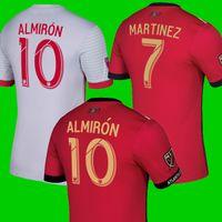 Wholesale atlanta homes - Thailand 2018 2019 Atlanta United fc soccer jersey 18 19 ALMIRON MARTINEZ JONES GARZA VILLALBA MCCANN home away football kit shirts