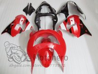 Wholesale 98 zx9r fairing red online - 3gifts ABS Fairings For KAWASAKI NINJA ZX9R ZX R ZX R red black Fairing kits painted bodywork