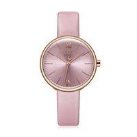 ingrosso orologi del julius-Orologio da donna New Lady Japan Quartz Classic Fashion Simple Hours Bracciale in vera pelle Orologio regalo di compleanno per ragazza Julius Box