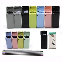 Wholesale stainless steel kitchen tools online - Reusable Final Straw Stainless Steel Straws Reusable Collapsible Foldable Straw Travel Outdoor Kitchen Tools Drinkware HH7