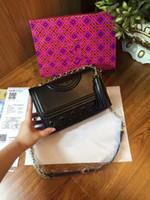 inek deri çanta deseni toptan satış-Yeni moda Desen hakiki inek Deri Evrak kadın Omuz Çantası Messenger Çanta Moda çanta kadın Laptop Tote çanta Çanta