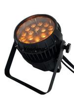 impermeabilizacion led par puede al por mayor-4 unidades de luz exterior rgbwa uv 6in1 dmx led par 18x18 impermeable led par puede ampliar