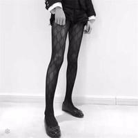 bayanlar ipek çoraplar toptan satış-Bayanlar Tasarımcı Ipek Çorap Marka Çorap Seksi Bayan Çorap Moda Nedensel Çorap Seksi Şeffaf Izgara Çorap Kadın Çorap