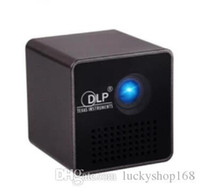 Wholesale mini movie projectors - Wholesale-Original UNIC P1+ WIFI Wireless Mobile Projector Support Miracast DLNA Pocket Home Movie led DLP MINI Projector Proyector Beamer