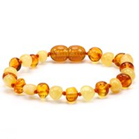 Wholesale labs testing for sale - Baltic Amber Teething Bracelet for Baby Simple Package Lab Tested Authentic Sizes