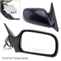 yan kapı aynaları toptan satış-Katlanır Olmayan Sağ Yan Sağ Ayna Sağ El RH Ayna için 97-01 Toyota Camry CE / LE / XLE Sedan 4-Door AEP_000