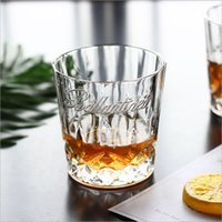 Wholesale diamond cut crystal glasses for sale - Group buy DHL Whisky Cup Shot Glass Engraving Creative Crystal Diamond Tasting Cup Beer Wine Glass Cup Bar Restaurant Drinkware