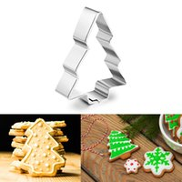 Wholesale trees cutters for sale - Group buy Christmas Tree Cookie Cutter Biscuit Pastry Fondant Cake Decorating Mold for chocolates candle cookies fondant cakes
