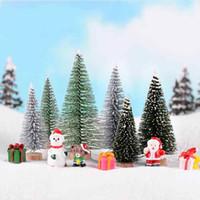 ingrosso piante di pino-Albero di Natale decorativo Pino L S Fairy Garden Dollhouse Accessorio Vaso per piante Bonsai Decorazione Moss Terrarium Micro Landscape Ornament