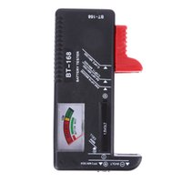 Wholesale aa electronics online - BT168 Universal Digital Battery Tester Electronic Battery Volt Checker for AA AAA V Button Cell Multi Size Voltage Meter