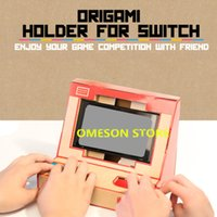 Wholesale Arcade Game Toys - Foldable Stand Origami Labo DIY Cardboard Creations Game Holder Kit Toys for NS Switch Paper Arcade Bracket