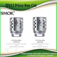 Wholesale New Replacement Heads - Original Smok TFV12 Prince New Coil Head Strip Mesh 0.15ohm Replacement Coils Core For SmokTech TFV12 Prince Tank 100% Authentic