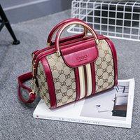benzersiz deri çanta toptan satış-Omuz Çantaları Çanta Tasarımcısı Moda Kadınlar Boston Lüks Çanta Bayanlar Crossbody Çanta Bez Çantalar PU Deri Manuel Benzersiz Popüler Çantalar