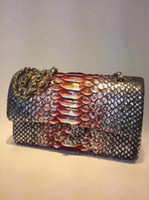 Wholesale inside bag - 1112 Women's Shoulder Bag 25.5cm,South Africa imports top class real python skin, can be said to be perfect, with imported deer skin inside