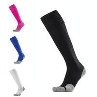 calcetines de nylon al por mayor-Calcetines de fútbol de alta calidad Hombre Toalla Inferior Medias Calcetines de fútbol Masculinos antideslizantes Calcetines deportivos Soporte FBA Envío de la gota G527S