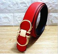 70bbff58a8c 2108 vente chaude rouge avec bonne grande boucle hommes et femmes ceintures  Ceintures de haute qualité designer ceinture en cuir véritable pour hommes  ...